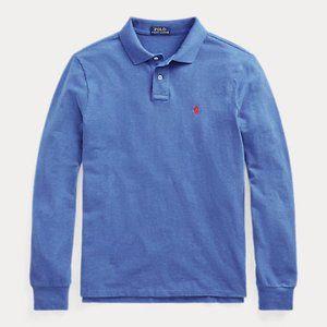 Ralph Lauren LS Custom Slim Mesh Polo Shirt NWT